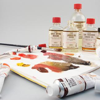 (3) Artist Oil Mediums