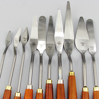 Basic Steel Painting Knives